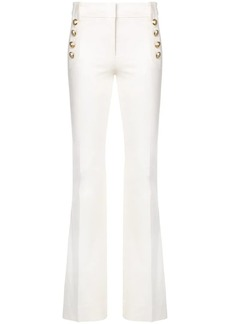 Derek Lam Robertson Flare Trouser With Sailor Buttons