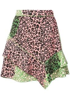 Derek Lam Ruffle Mini Skirt