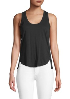 Derek Lam Scoopneck Cotton Tank Top