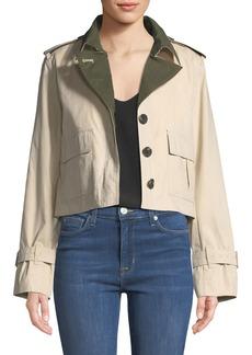 Derek Lam Short Utility Anorak Jacket