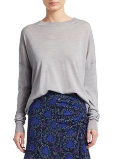 Derek Lam Silk Wool Cashmere Sweater