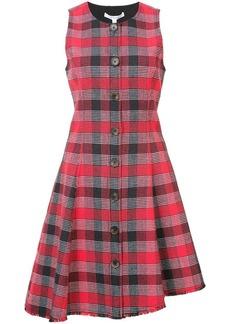 Derek Lam Sleeveless Button-Down Asymmetrical Dress