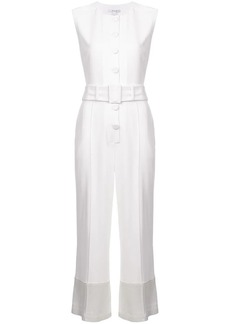 Derek Lam Sleeveless Button-Down Jumpsuit