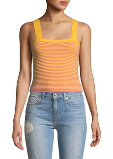 Derek Lam Sleeveless Knit Crop Top