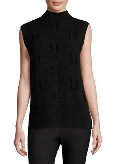 Derek Lam Sleeveless Merino Wool Top