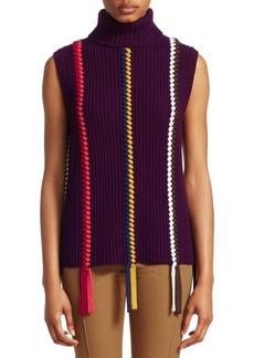 Derek Lam Sleeveless Turtleneck Sweater