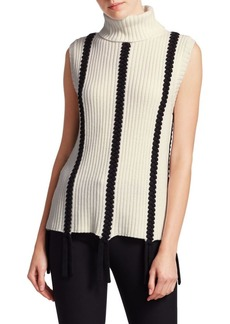 Derek Lam Sleeveless Turtleneck Sweater