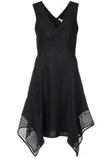 Derek Lam Sleeveless V-Neck Pieced Lace Dress