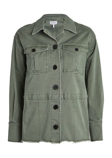 Derek Lam Stretch Chino Utility Jacket