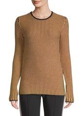 Derek Lam Stripe-Knit Merino Wool Sweater