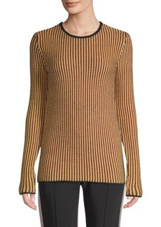 Derek Lam Stripe-Knit Wool Sweater