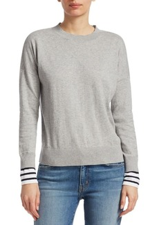 Derek Lam Striped Cashmere Sweater