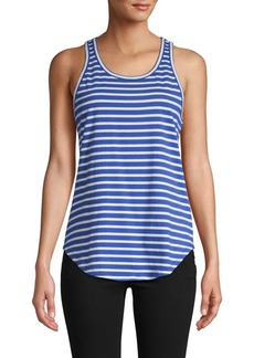 Derek Lam Striped Cotton Tank Top