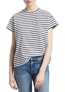Derek Lam Striped Cotton Tee