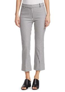 Derek Lam Striped Cropped Pants