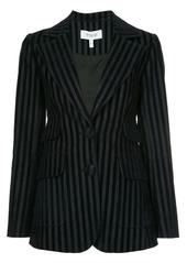 Derek Lam striped fitted blazer