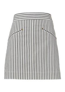Derek Lam Striped Mini Skirt