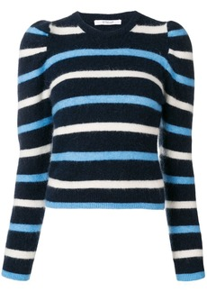 Derek Lam striped puff sleeve sweater