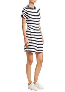 Derek Lam Striped T-Shirt Dress