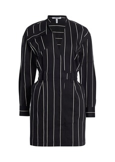 Derek Lam Striped Utility Dress
