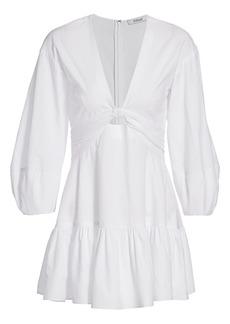 Derek Lam Talia Keyhole Mini Dress