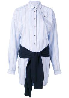 Derek Lam tie-waist shirt dress