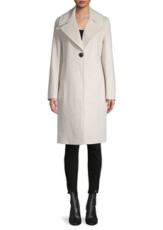 Derek Lam Two-Tone Reefer Coat