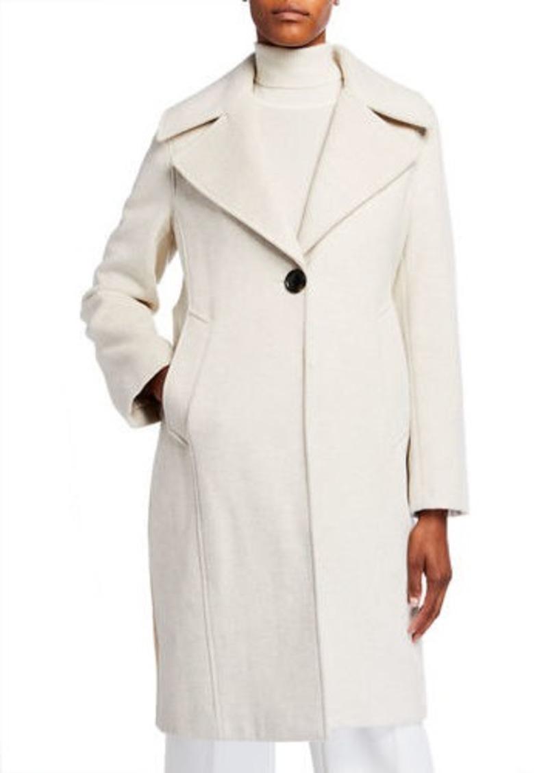 Derek Lam Two-Tone Reefer Coat