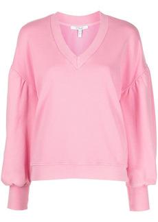Derek Lam V-neck drop-shoulder sweatshirt