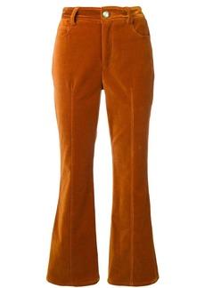 Derek Lam velveteen flared trousers