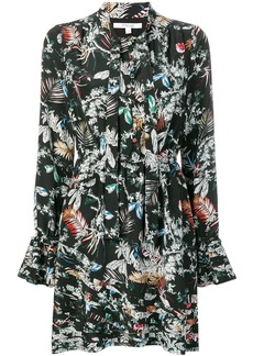 Derek Lam wallpaper floral print dress