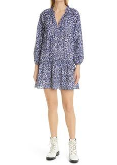 Women's Derek Lam 10 Crosby Juno Floral Print Shift Dress