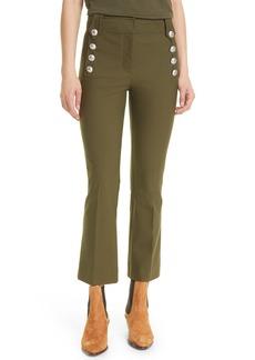 Women's Derek Lam 10 Crosby Robertson Crop Flare Sailor Pants