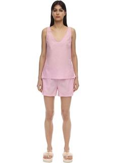 Derek Rose Amalfi Batiste Cotton Camisole Set