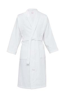 Derek Rose Cotton-velour bathrobe