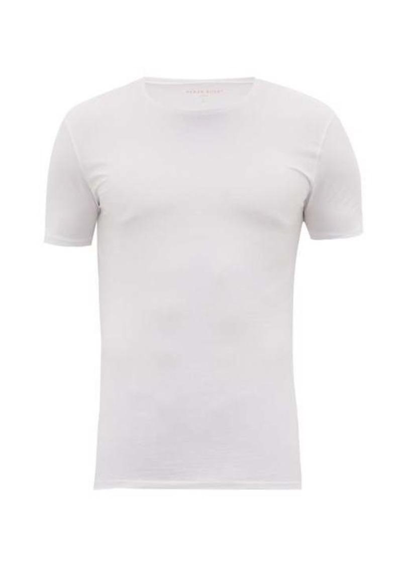 Derek Rose Jack pima-cotton crew-neck T-shirt