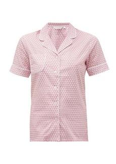 Derek Rose Ledbury 27 geometric-print cotton pyjamas