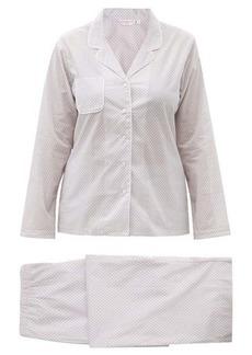 Derek Rose Ledbury 40 geometric-print cotton-batiste pyjamas