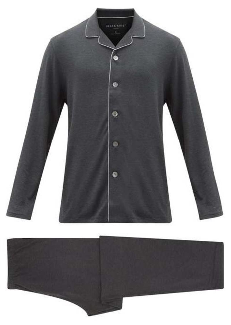 Derek Rose Marlowe stretch-jersey pyjamas