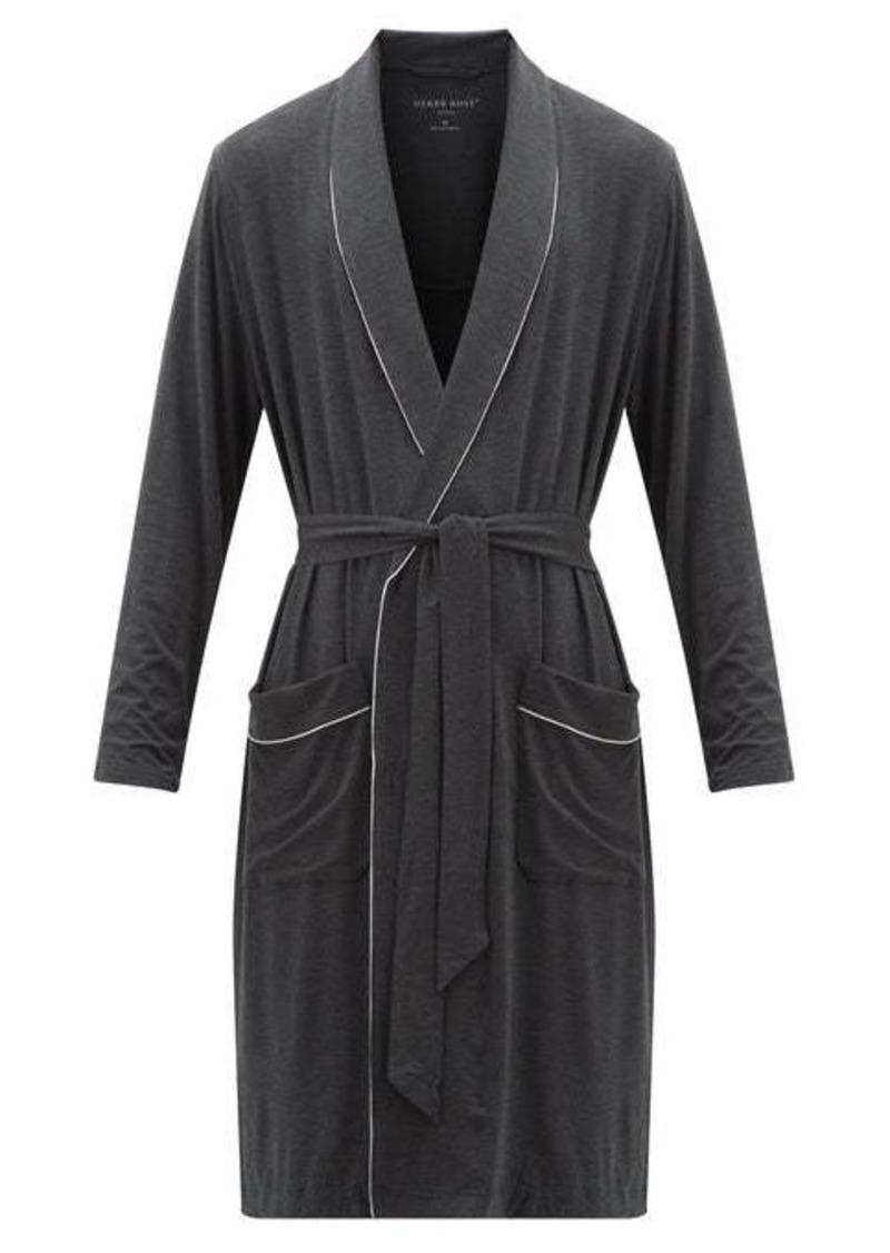 Derek Rose Marlowe stretch-jersey robe