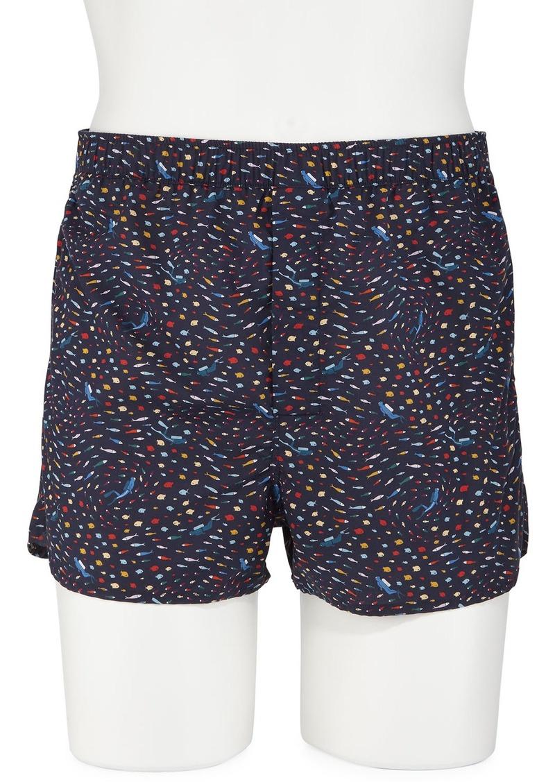 Derek Rose Men's Ledbury 29 Modern-Fit Boxer Shorts