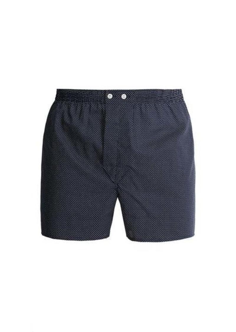 Derek Rose Pin-dot cotton boxer shorts