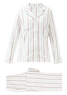 Derek Rose Striped cotton pyjamas