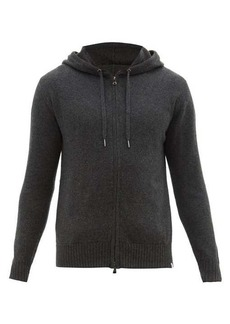 Derek Rose Zip-through cashmere hooded sweater
