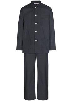 Derek Rose polka dot two-piece pyjamas