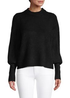 Design History Balloon-Sleeve Sweater