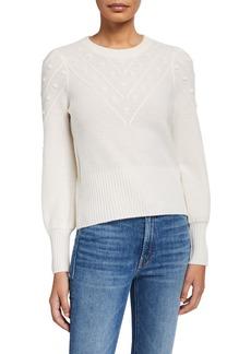 Design History Bobble Cashmere Sweater