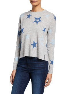 Design History Cashmere Star-Print Pullover