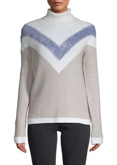 Design History Chevron Stripe Ski Sweater