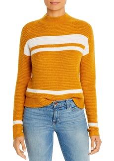 Design History Color-Block Mock-Neck Sweater